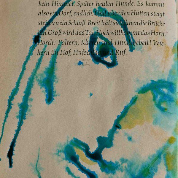 Detail Tusche-Zeichnung im Buch, je. Seite 18 x 11,5 cm